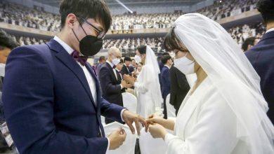 Photo of زواج جماعي في كوريا يتحدى فيروس | جريدة الأنباء