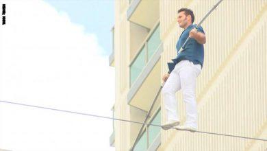 Photo of بارتفاع 14 طابقا رجل يحاول عبور | جريدة الأنباء