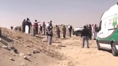 Photo of تمشيط محيط مركبة المواطن المقتول