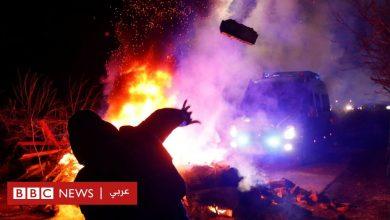 Photo of فيروس كورونا: متظاهرون في أوكرانيا يهاجمون حافلات تقل أشخاصا أُجلوا من الصين