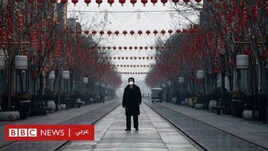 Photo of فيروس كورونا: شوارع شبه خالية في بكين