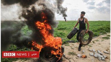 """Photo of محمد الناعم : إدانة واسعة لـ""""تنكيل"""" الجيش الإسرائيلي بجثة الشاب الفلسطيني وتعليقها على جرافة"""