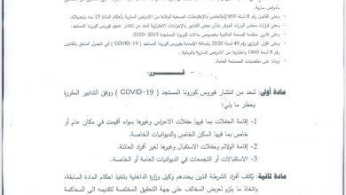 Photo of وزير الصحة الكويتي يصدر قراراً بحظر الحفلات بما فيها الأعراس والولائم وحفلات الاستقبال