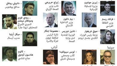Photo of كبار السياسيين ونجوم الفن والرياضة | جريدة الأنباء