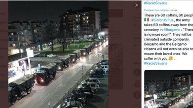 Photo of شاهد ..صورة مسربة تكشف حجم مأساة ما يحدث في إيطاليا بسبب كورونا!