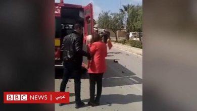 Photo of بالفيديو: إنفجار أمام السفارة الأمريكية في تونس