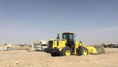 Photo of البلدية إزالة مخيمًا مخالفًا