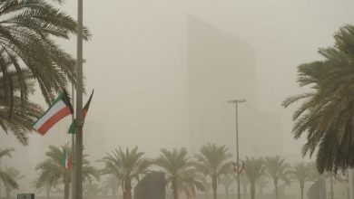 Photo of الأرصاد طقس مائل للحرارة مع فرصة لأمطار رعدية ورياح نشطة مثيرة..