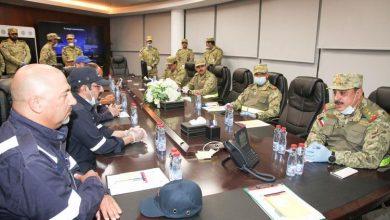 Photo of وكيل الحرس الوطني يتفقد قوة الإسناد في مصنع الغاز المسال