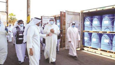 Photo of وصول أول شحنة لمادة الإيثانول   جريدة الأنباء