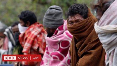 """Photo of فيروس كورونا: نزوح جماعي من العاصمة الهندية """"هربا من الجوع لا الوباء"""""""