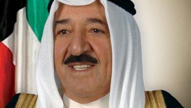 Photo of سمو أمير البلاد يهنئ العاهل الأردني بالعيد الوطني