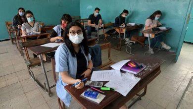 Photo of تونس طلاب الثانوية يعودون للمدارس بالكمامة