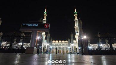 Photo of بعد يومًا من الاغلاق المسجد النبوي يفتح أبوابه أمام المصلين