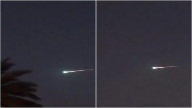 Photo of بالفيديو لحظة رصد كرة نارية غريبة | جريدة الأنباء