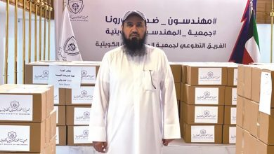 Photo of العتل توزيع 12750 قناعا واقيا للوجه | جريدة الأنباء