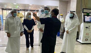 Photo of وزير الصحة تفقد مستشفيات العدان   جريدة الأنباء