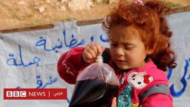 Photo of تيماء أصغر بائعة مشروبات رمضانية في إدلب