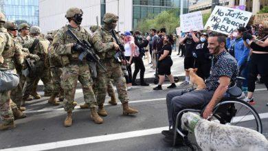 Photo of أمريكا نشر أكثر من ألف من الحرس الوطني للتصدي للاحتجاجات