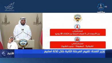 Photo of وزير الصحة: ننتقل إلى المرحلة الثانية بتفاؤل حذر