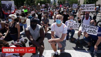 Photo of وفاة جورج فلويد: احتجاجات وأعمال عنف في مدن أمريكية رغم فرض حظر التجول