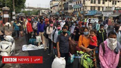 Photo of فيروس كورونا: حشود غفيرة في قطارات الهند بعد استئناف تشغيلها رغم تزايد الإصابات