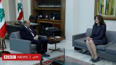 """Photo of أزمة لبنان: هل حظر نشر تصريحات السفيرة الأمريكية بشأن حزب الله """"تضييق"""" للحريات؟"""