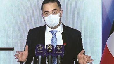 Photo of 833 إصابة جديدة والانتقال من مرحلة | جريدة الأنباء