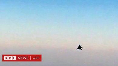 Photo of لحظة اعتراض طائرة حربية أمريكية لطائرة ركاب إيرانية متجهة إلى لبنان