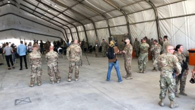 Photo of التحالف ينسحب من موقع بقاعدة التاجي ويسلمه للجيش العراقي