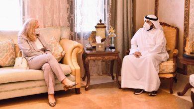 Photo of وزير الصحة يبحث مع السفيرة الأمريكية تعزيز التعاون الصحي