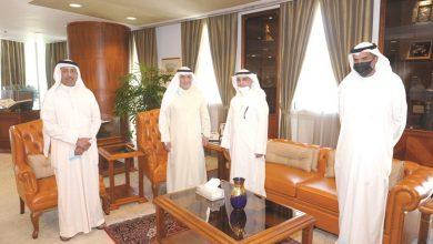 Photo of الصقر الغرفة مهتمة بتعزيز دور قطاع   جريدة الأنباء