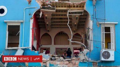 Photo of انفجار بيروت: أضرار شديدة في الجميزة أقرب منطقة سكنية للمرفأ