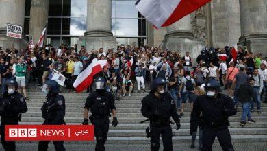 Photo of فيروس كورونا: غضب بعد محاولة اقتحام البرلمان الألماني أثناء مظاهرات ضد قيود الوباء