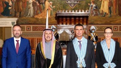 Photo of رئيسا سان مارينو: أمير الكويت قائد استثنائي