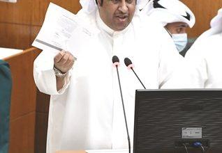 Photo of الاستجواب الثلاثي للحربي طلب طرح ثقة   جريدة الأنباء