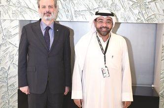 Photo of بالفيديو اتفاقية تعاون مشترك بين   جريدة الأنباء