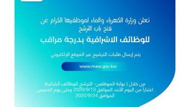 Photo of فتح باب الترشح للوظائف الإشرافية في | جريدة الأنباء