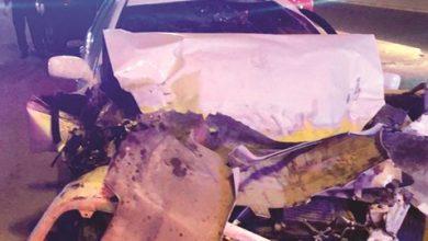 Photo of حادث ثلاثي يودي بحياة بدون ويكشف عن | جريدة الأنباء