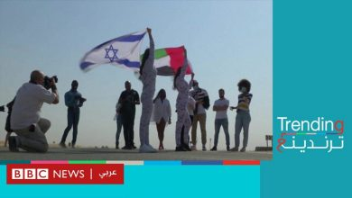 Photo of شركة ملابس داخلية إسرائيلية تصور عارضاتها في صحراء دبي الاماراتية