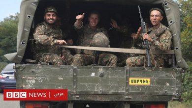 Photo of أرمينيا وأذربيجان: بي بي سي عربي تحاور مقاتلا سوريا على خط النار بين البلدين