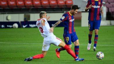 Photo of تعادل مخيب لبرشلونة أمام إشبيلية