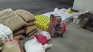 Photo of جمارك السالمي تحبط محاولة تهريب كمية ضخمة من مواد تموينية