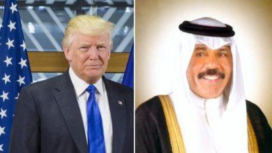Photo of سمو الأمير يتلقى رسالة تعزية من الرئيس دونالد ترامب بوفاة أمير البلاد الراحل