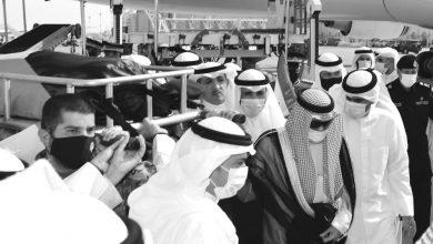 Photo of جثمان الأمير الراحل المغفور له بإذن الله الشيخ صباح الأحمد يوارى ثرى الكويت الطاهر