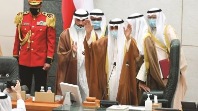 Photo of صاحب السمو الشيخ نواف الأحمد أدى   جريدة الأنباء
