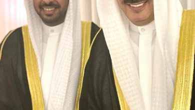 Photo of فرحة حسين المنصور بـ المعرس منصور | جريدة الأنباء