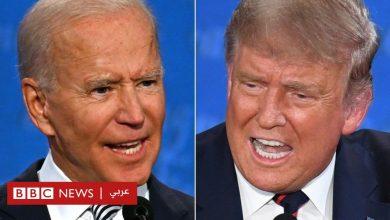 """Photo of الانتخابات الأمريكية 2020: من الفائز في """"اشتباك"""" ترامب وبايدن في مناظرتهما التلفزيونية؟"""
