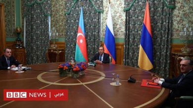 Photo of روسيا تعلن اتفاق أرمينيا وأذربيجان على وقف إطلاق النار