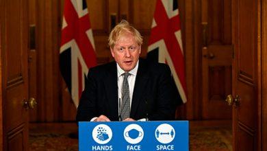 Photo of جونسون يعلن إغلاقا عاما في بريطانيا | جريدة الأنباء